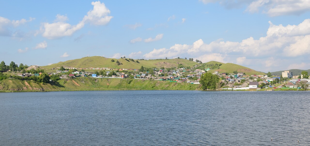 Катав-Ивановск, берег пруда