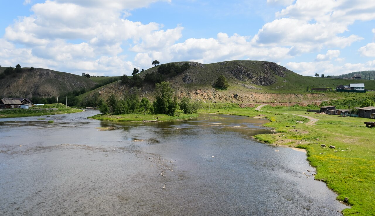 Село Орловка - красивое со всех сторон