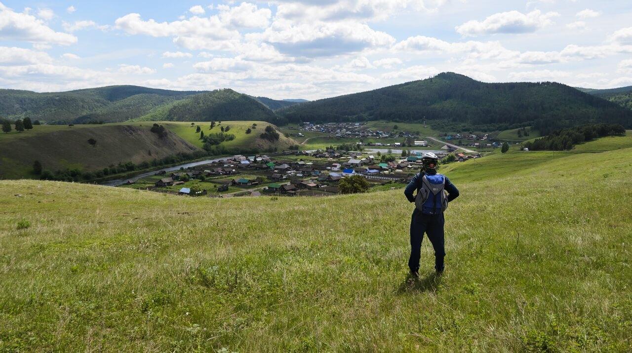 Село Орловка, прощальный взгляд