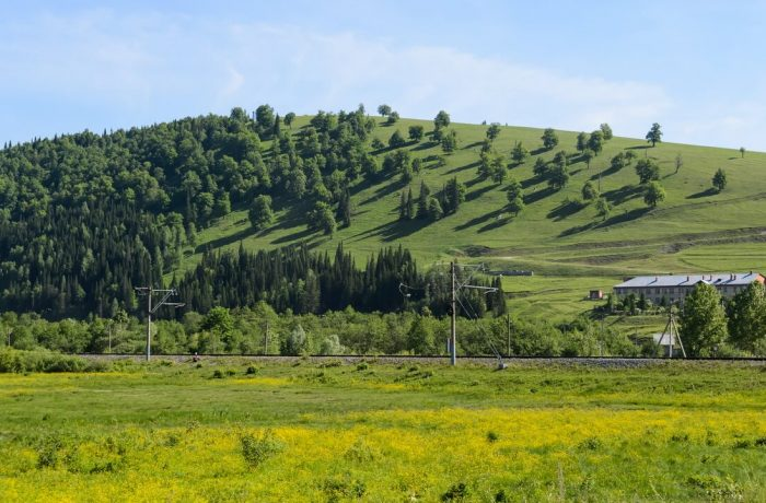 Холм рядом с Ассами