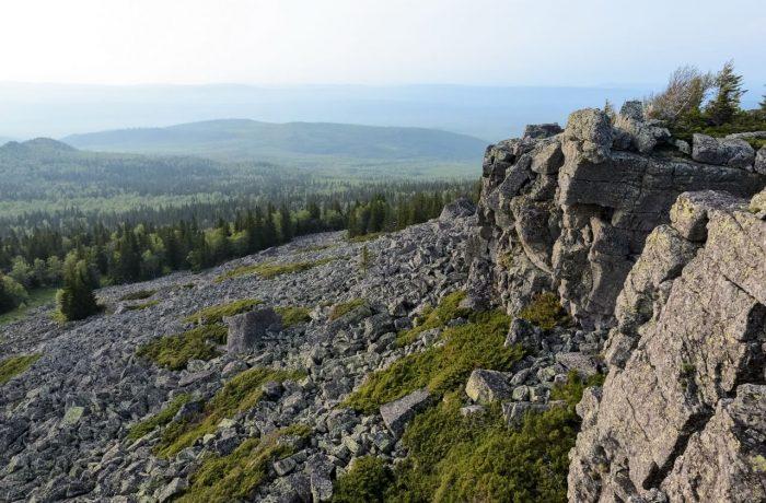 Каменный Форсос, на вершине
