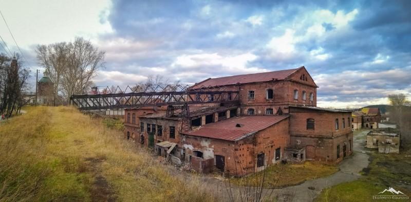 Развалины старинного железоделательного завода, Сысерть