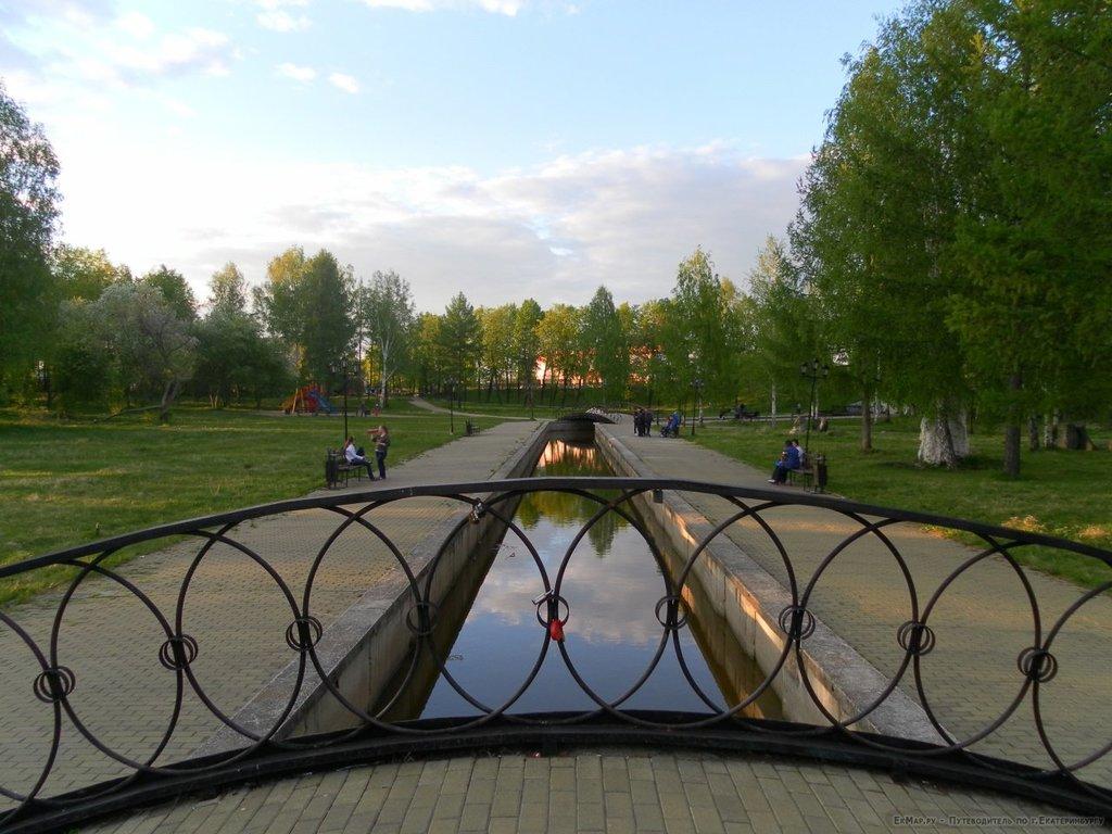 Исторический сквер, Город Березовский, Свердловская область