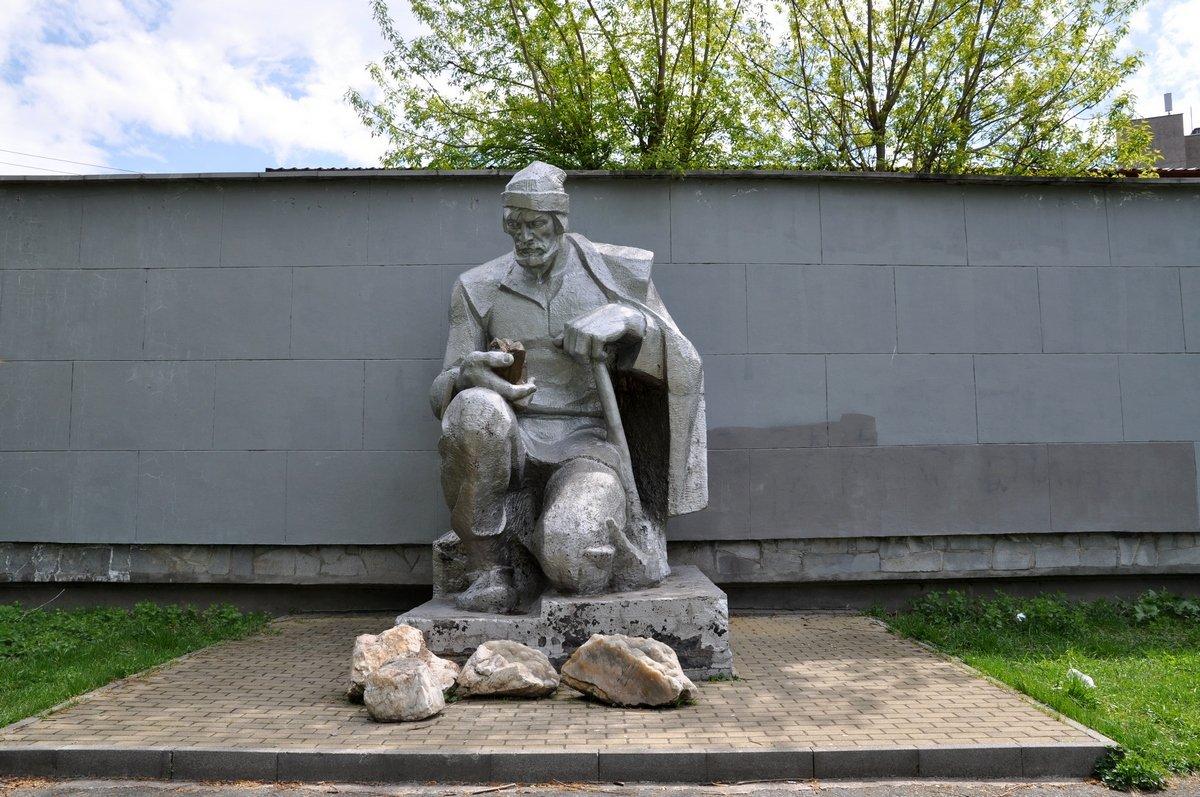 Памятник Ерофею Маркову, Город Березовский, Свердловская область