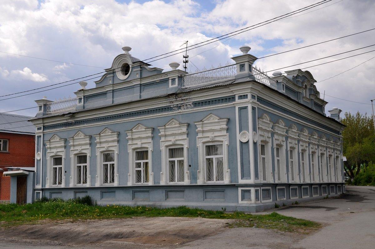 Дом купца Гавриила Рожкова, Березовский, Свердловская область