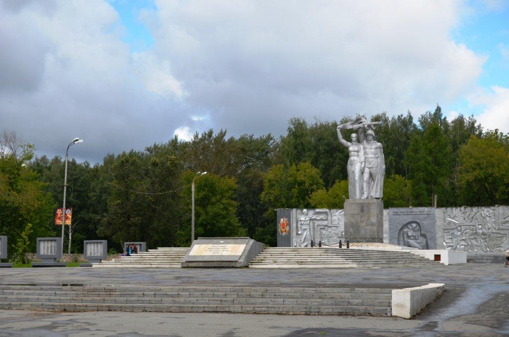 Парк Победы, Березовский, Свердловская область