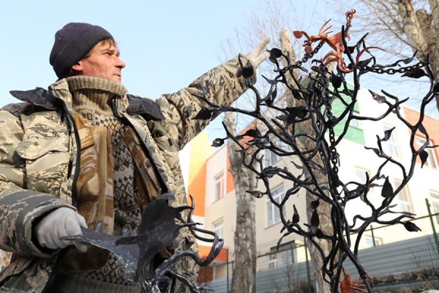 Арт-объект «Дерево Желаний», Березовский, Свердловская область