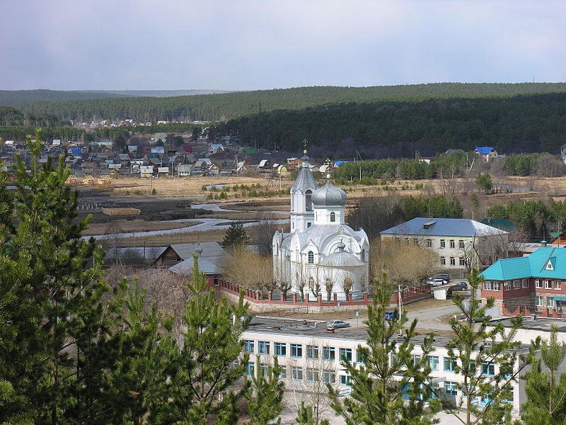 Сретенская церковь в Старопышминске