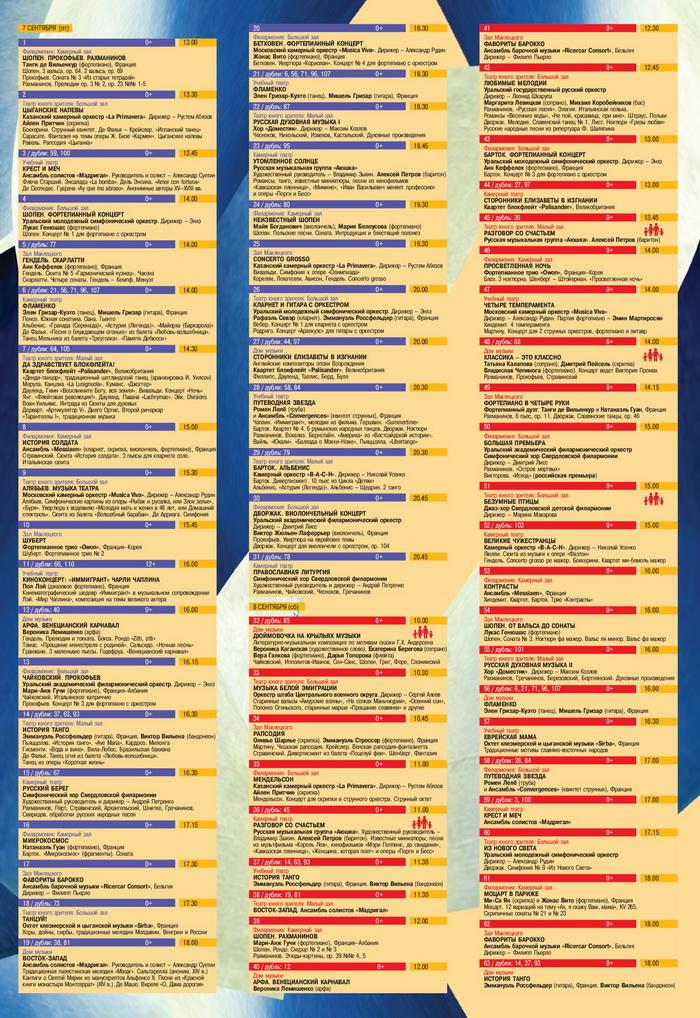 Фестиваль Безумные Дни, Свердловская филармония, Екатеринбург, Свердловская область