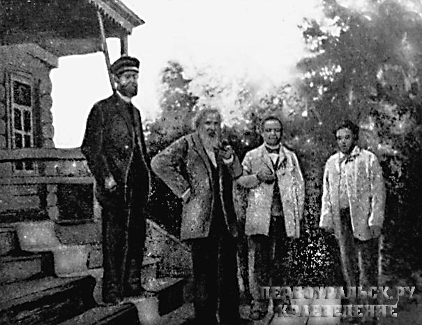 Д.И. Менделеев в Билимбае, июль 1899 год. Фото из книги Д.И. Менделеева «Уральская железная промышленность в 1899 г.».