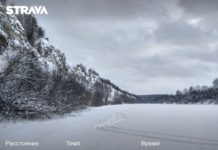 На лыжах по реке Сылва вдоль Подкаменной горы