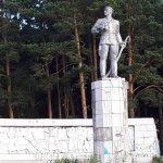 Памятник Блюхеру в Белорецке