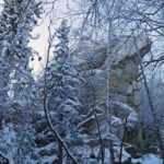 Бунарские Идолы, гора Бунар и Висячий камень: на лыжах!