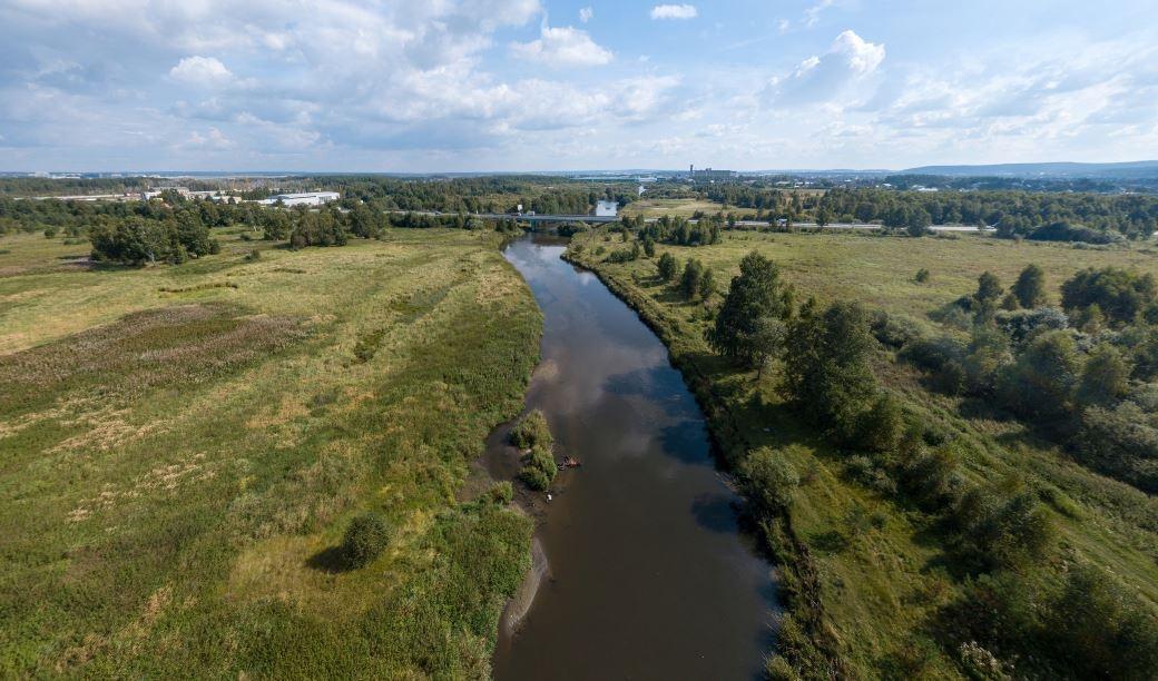 Панорамная прогулка по Исети: виртуальная экскурсия