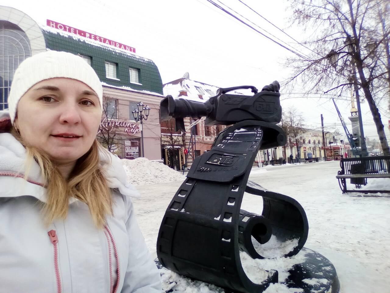 Аллея челябинских и областных телеканалов есть в парке Пушкина