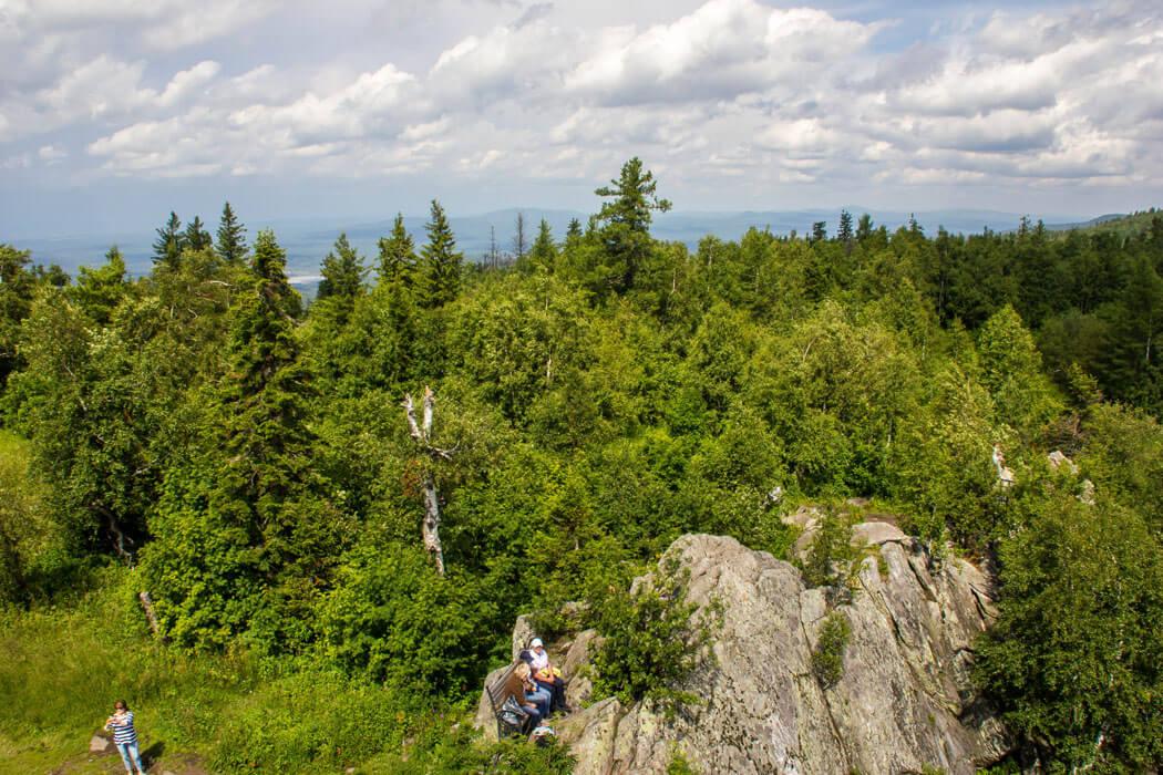 Черная скала, Таганай, Челябинская область