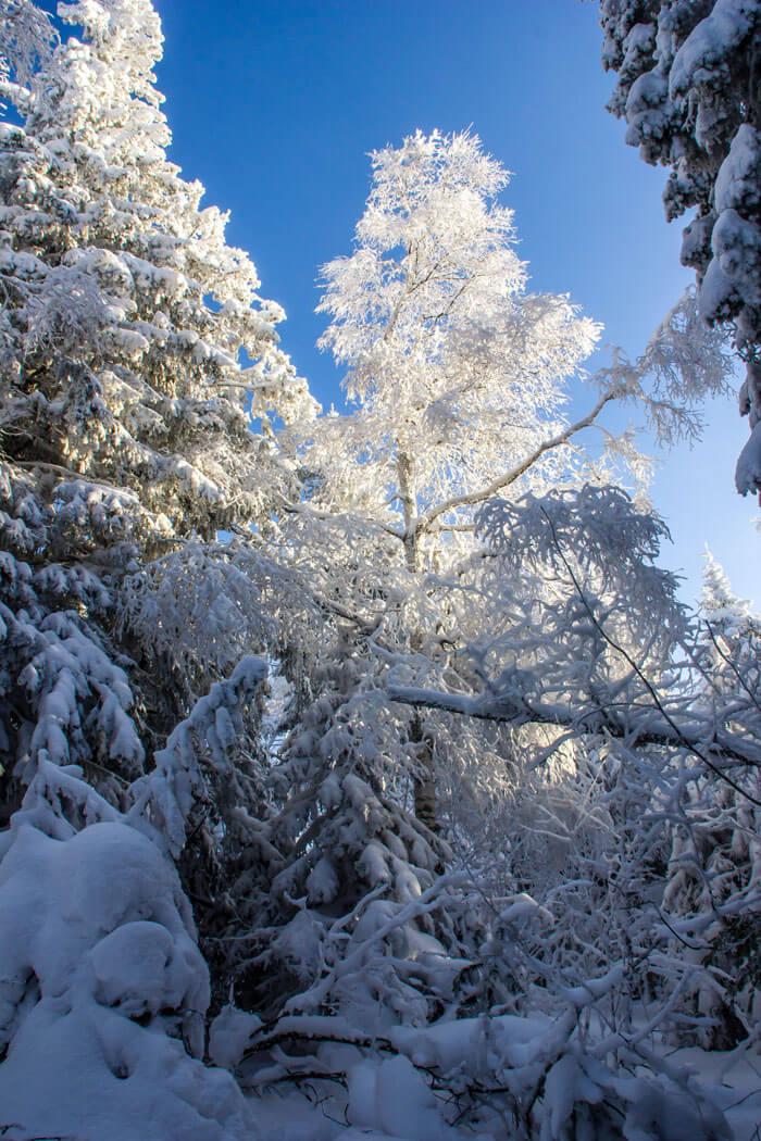 Черная скала, Таганай, Челябинская область, Зима на Урале