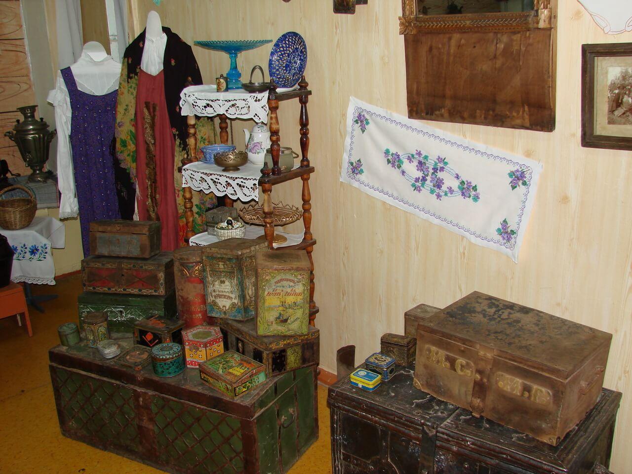 В краеведческгом музее поселка