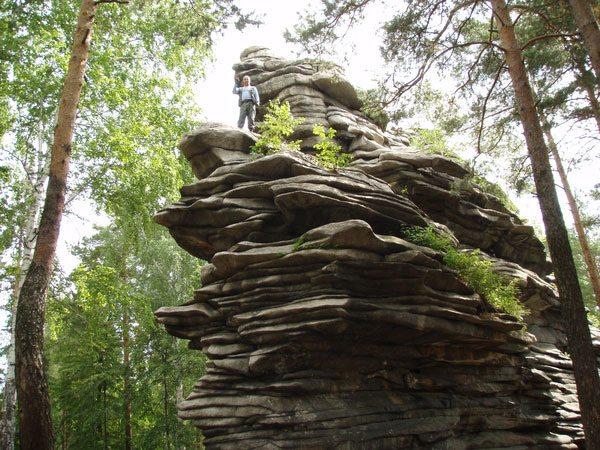 Скалы, Чертово Городище, фото, Свердловская область