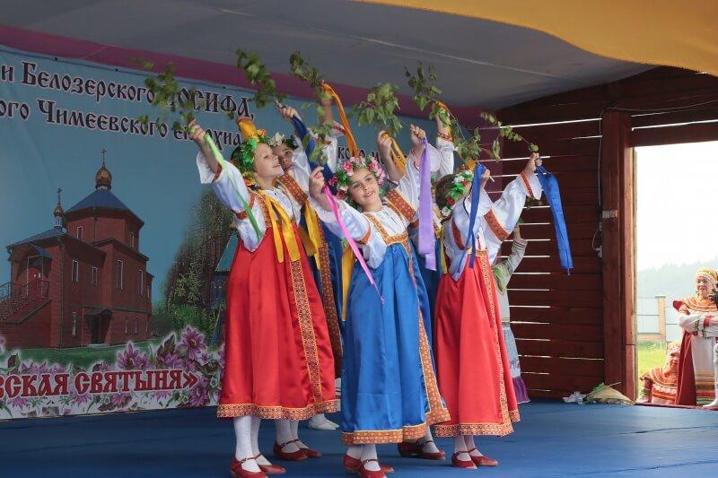 Фестиваль православного творчества «Чимеевская святыня»