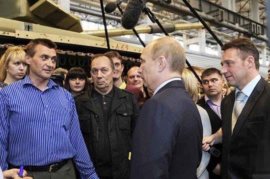 Во время встречи с Президентом РФ весной 2012 года. Фото Галины Соколовой.