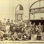 Служащие и рабочие чугунолитейного цеха Нижнетагильского доменного завода