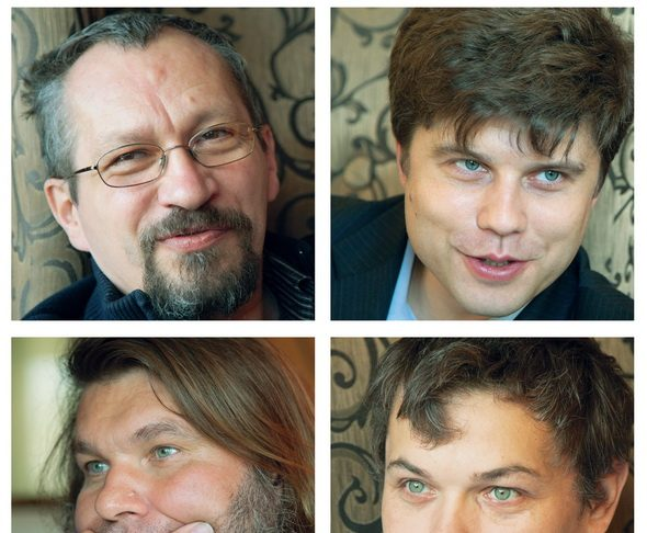 Александр Давыдов, Дмитрий Калаев, Алексей Костарев, Евгений Шароварин