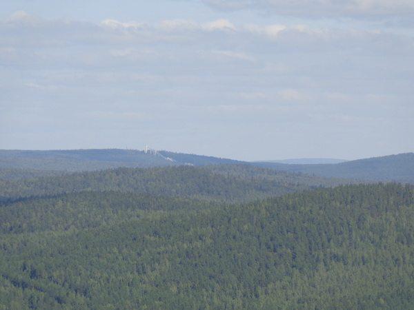Вид на гору Долгую с Липовой