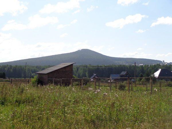 Вид на Липовую с поселка Студеного