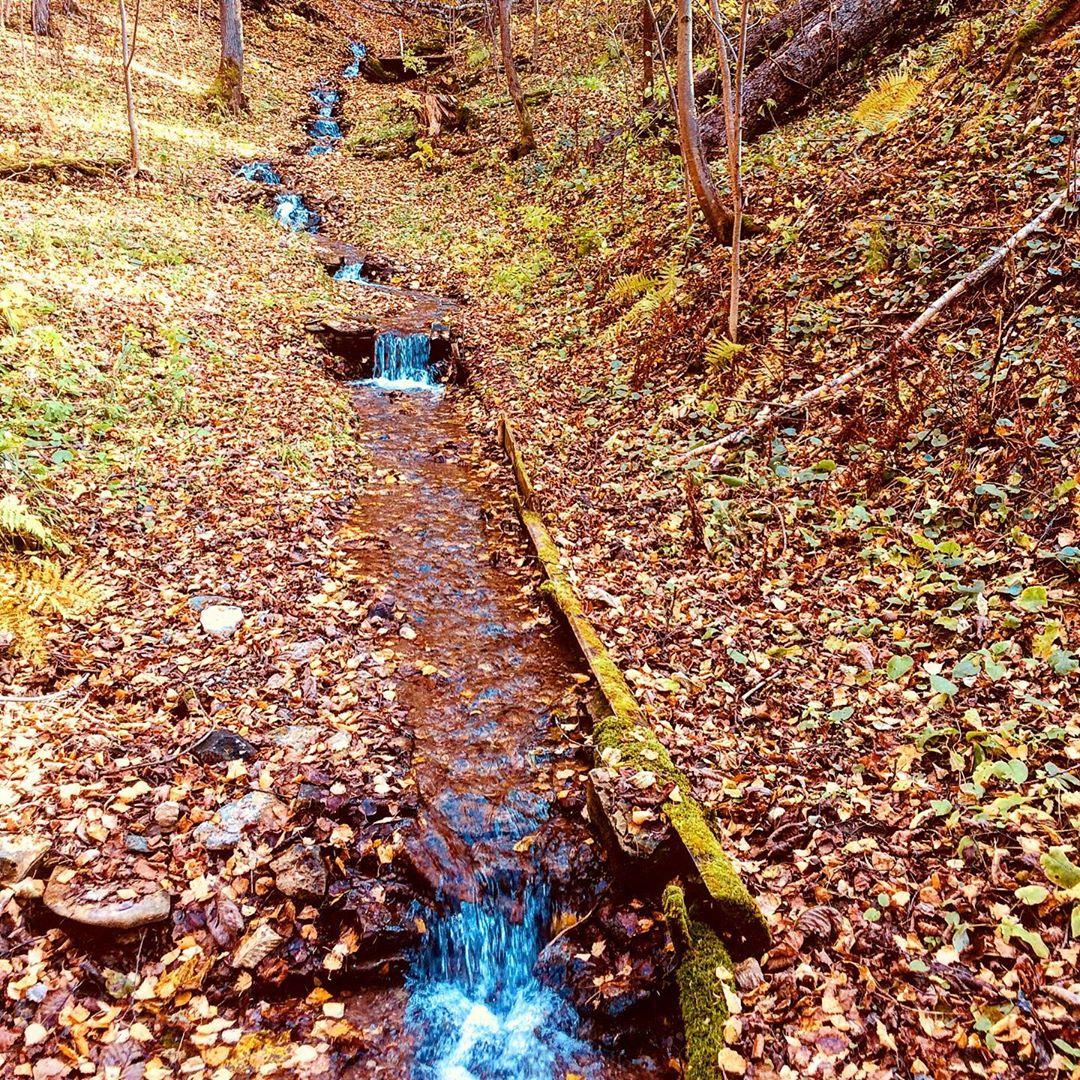 Долина водопадов в Елово