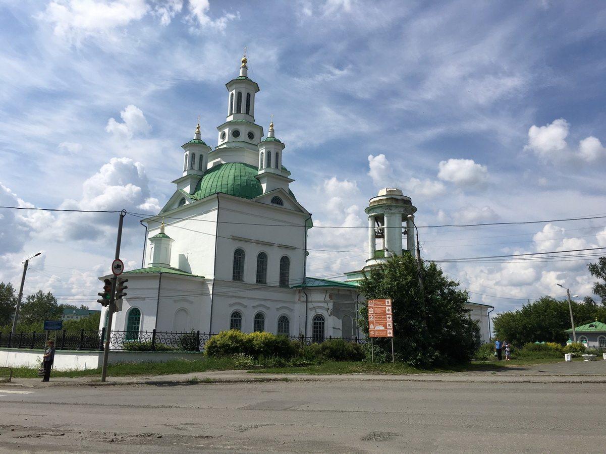 Современный вид Алексеевской церкви