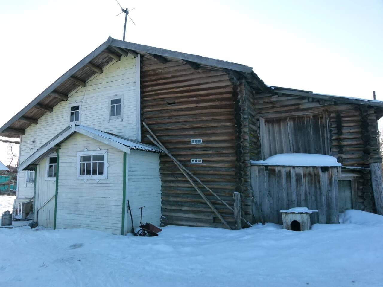 дом Филиппова в Мошъюге, Республика Коми