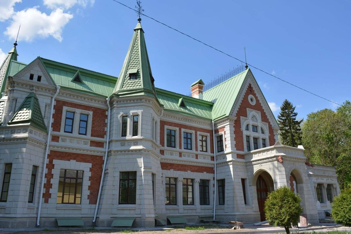 Дом в имении Красный Берег в Белоруссии