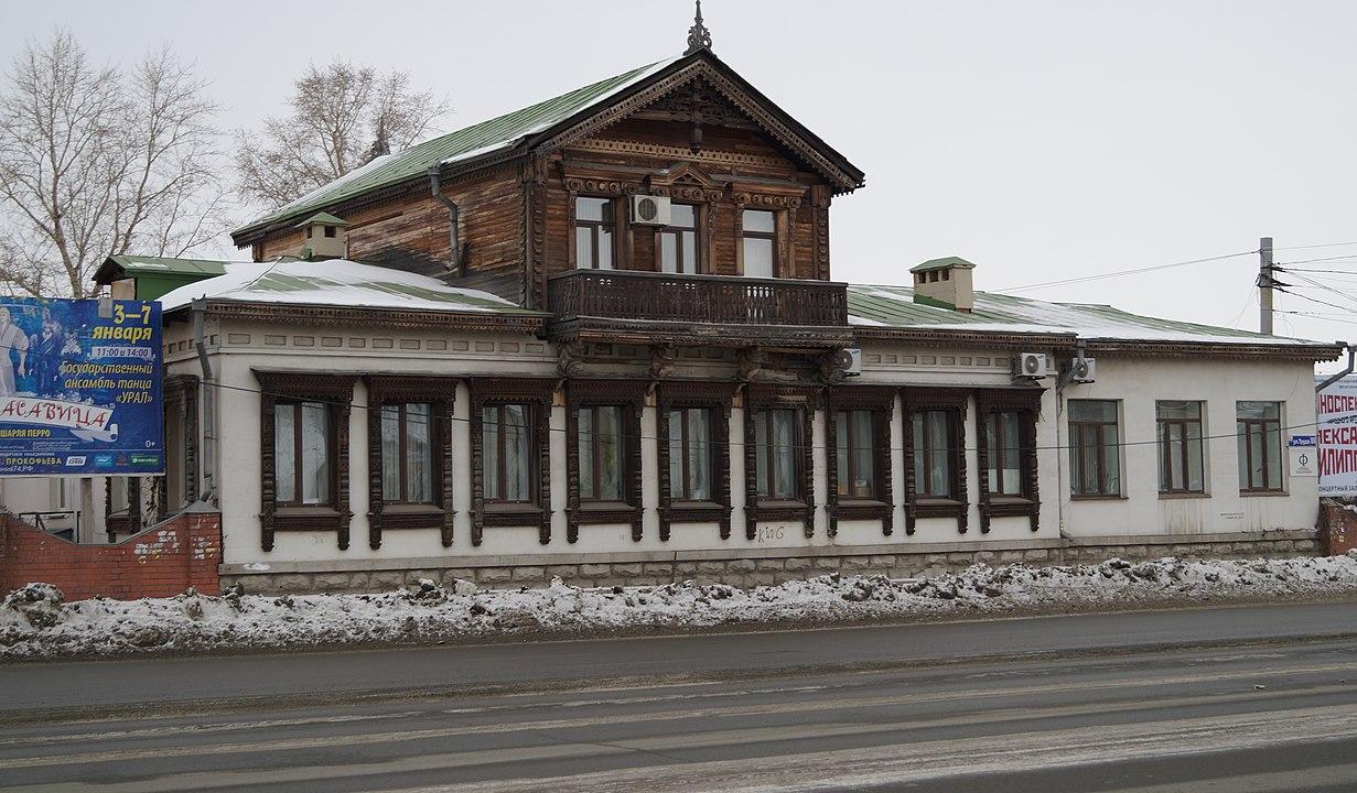 Дом с мезонином В. Г. Жуковского