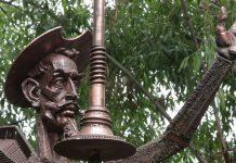 Памятник Дон Кихоту, Челябинская область
