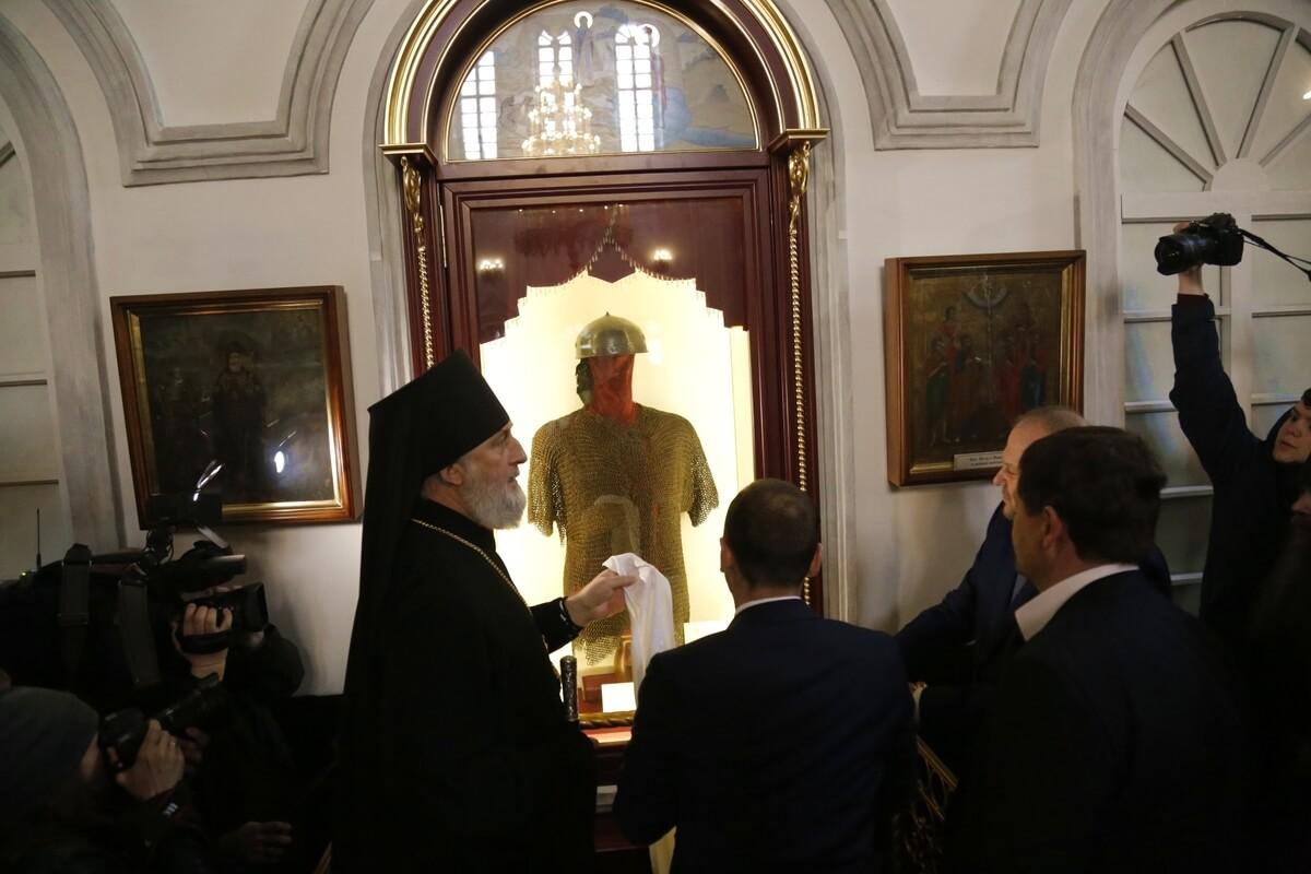 Доспехи основателя Далматовского Успенского монастыря вернули домой