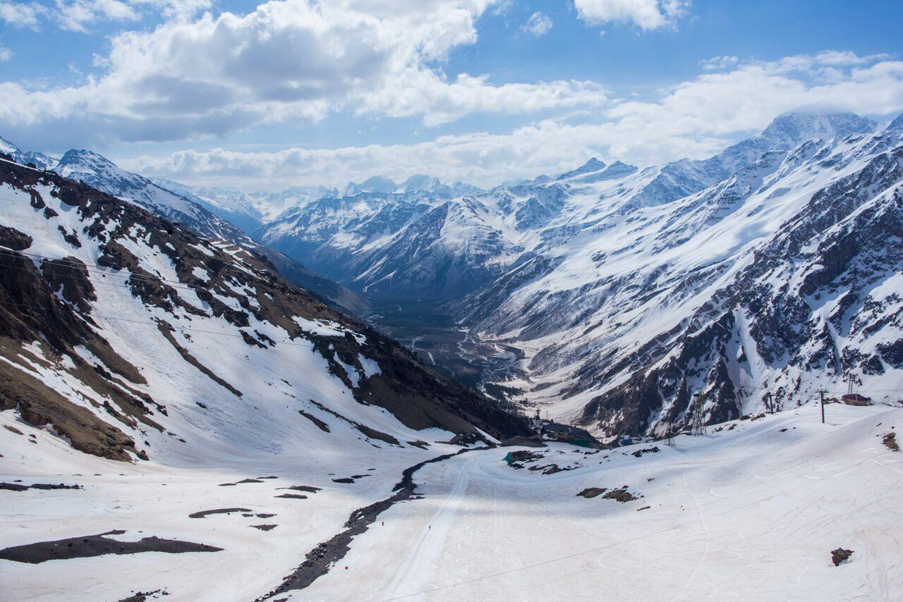 Где-то между станциями Кругозор-1 (3000 м) и Мир (3500 м)