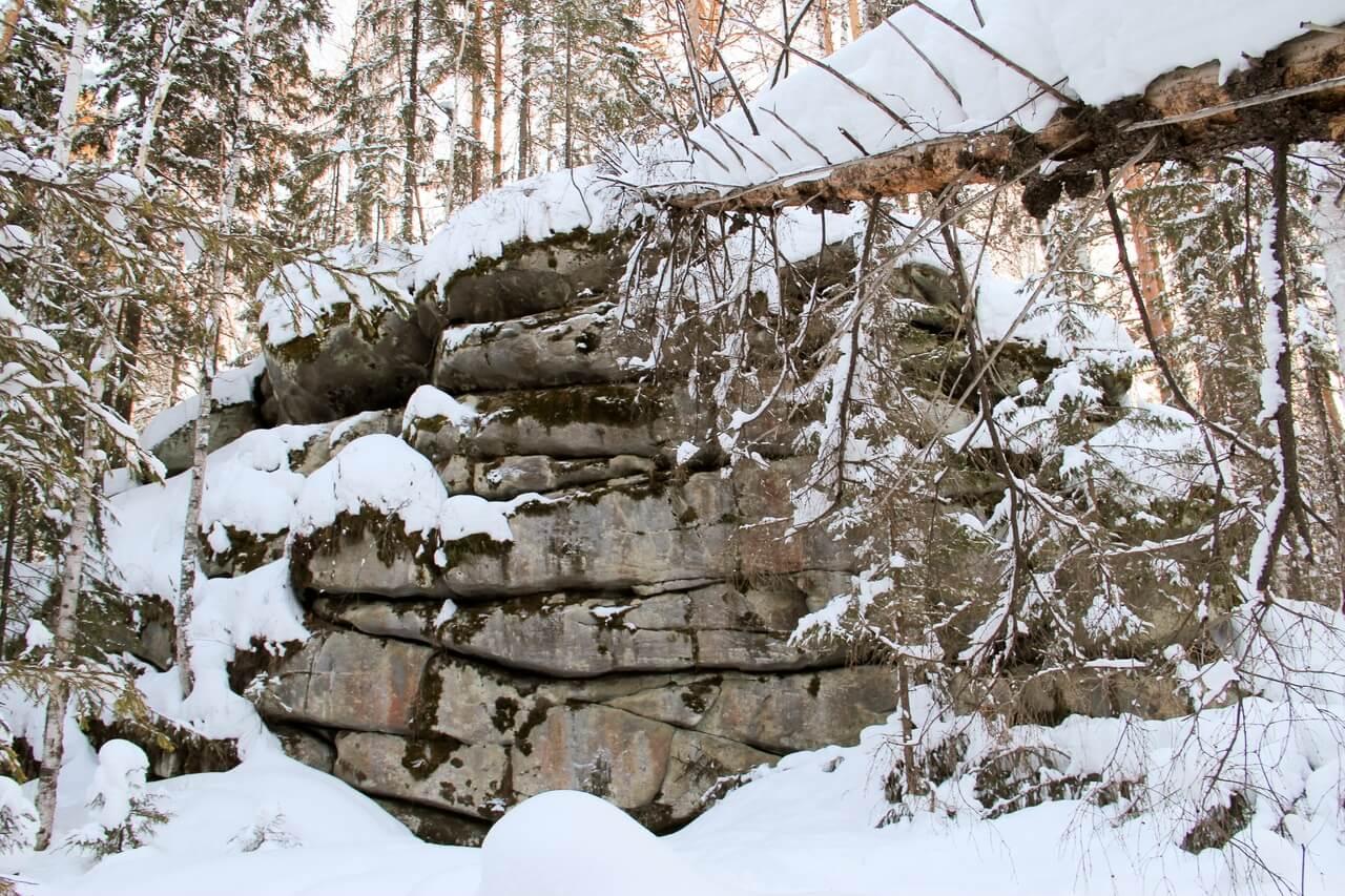 Еловый мыс, Свердловская область