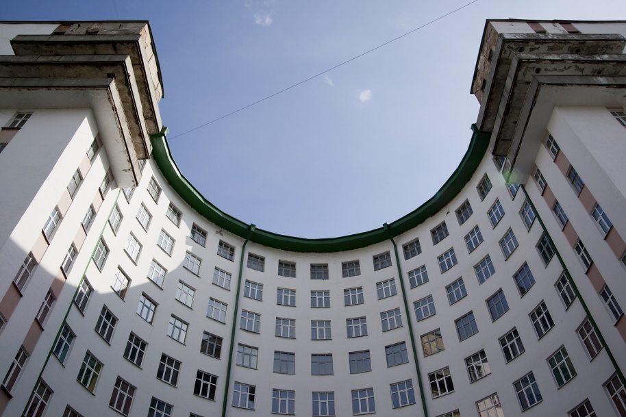 Гостиница «Исеть» (бывшее общежитие молодых сотрудников НКВД)