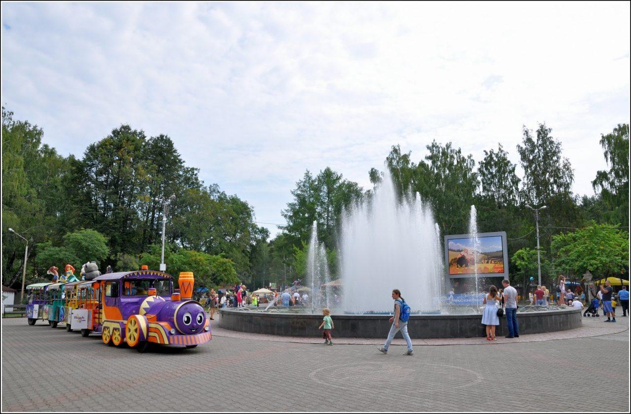 Светомузыкальный фонтан «Созвездие», ЦПКиО, Екатеринбург