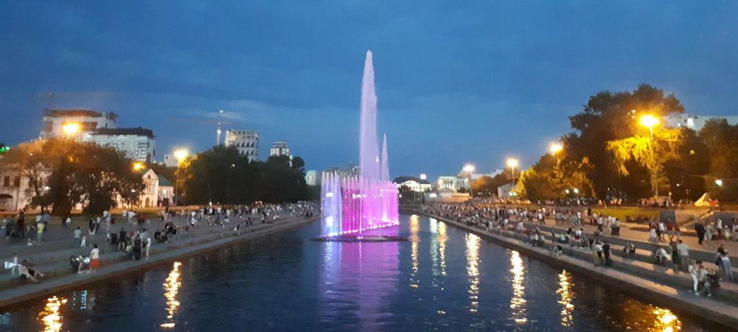 Фонтаны Екатеринбурга