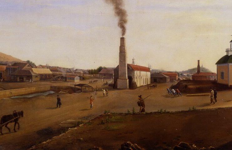 П. Ф. Худояров. Меднорудянский рудник, 1849 г.
