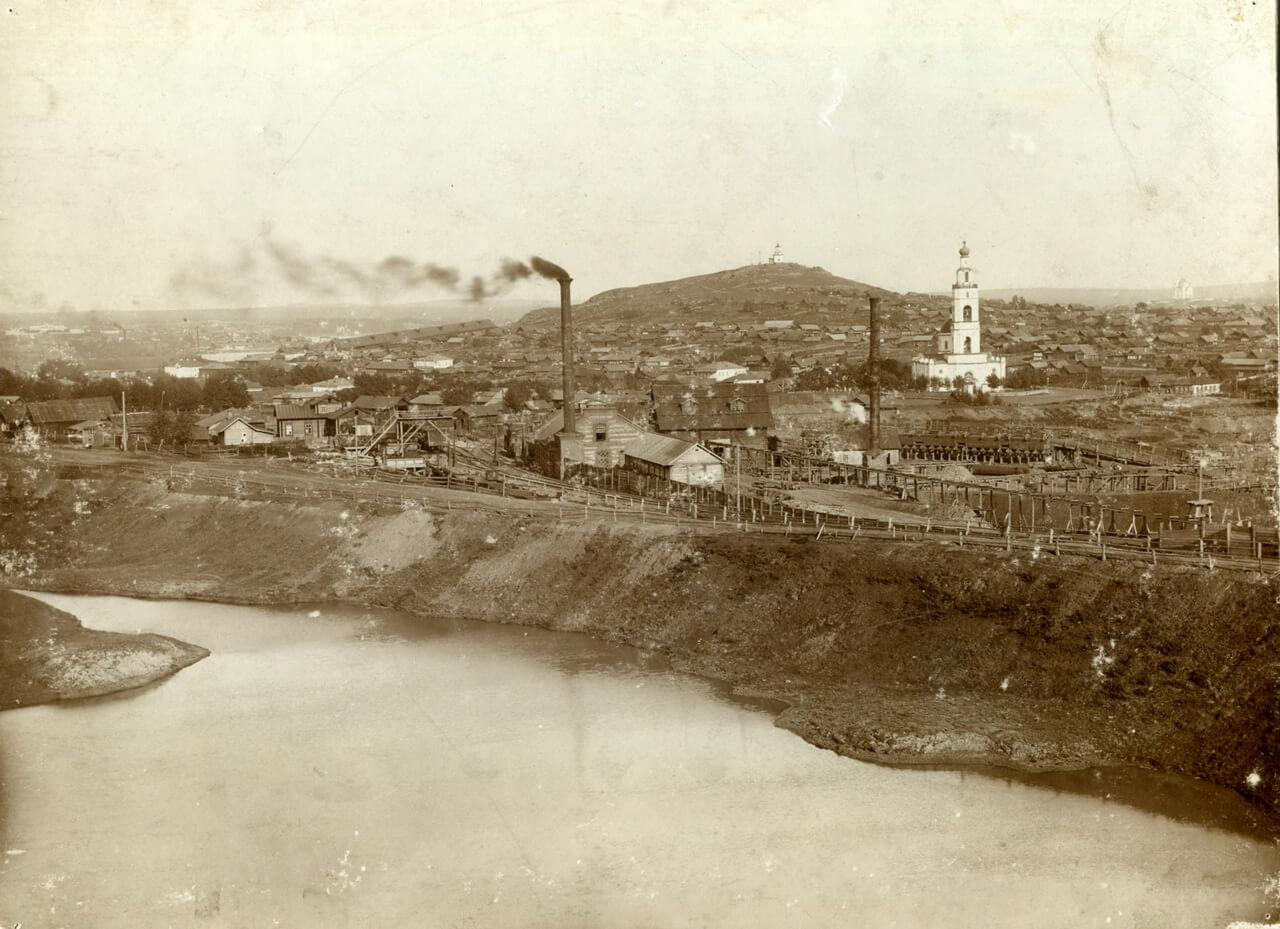 Вид на Медный рудник Н. Тагильского завода
