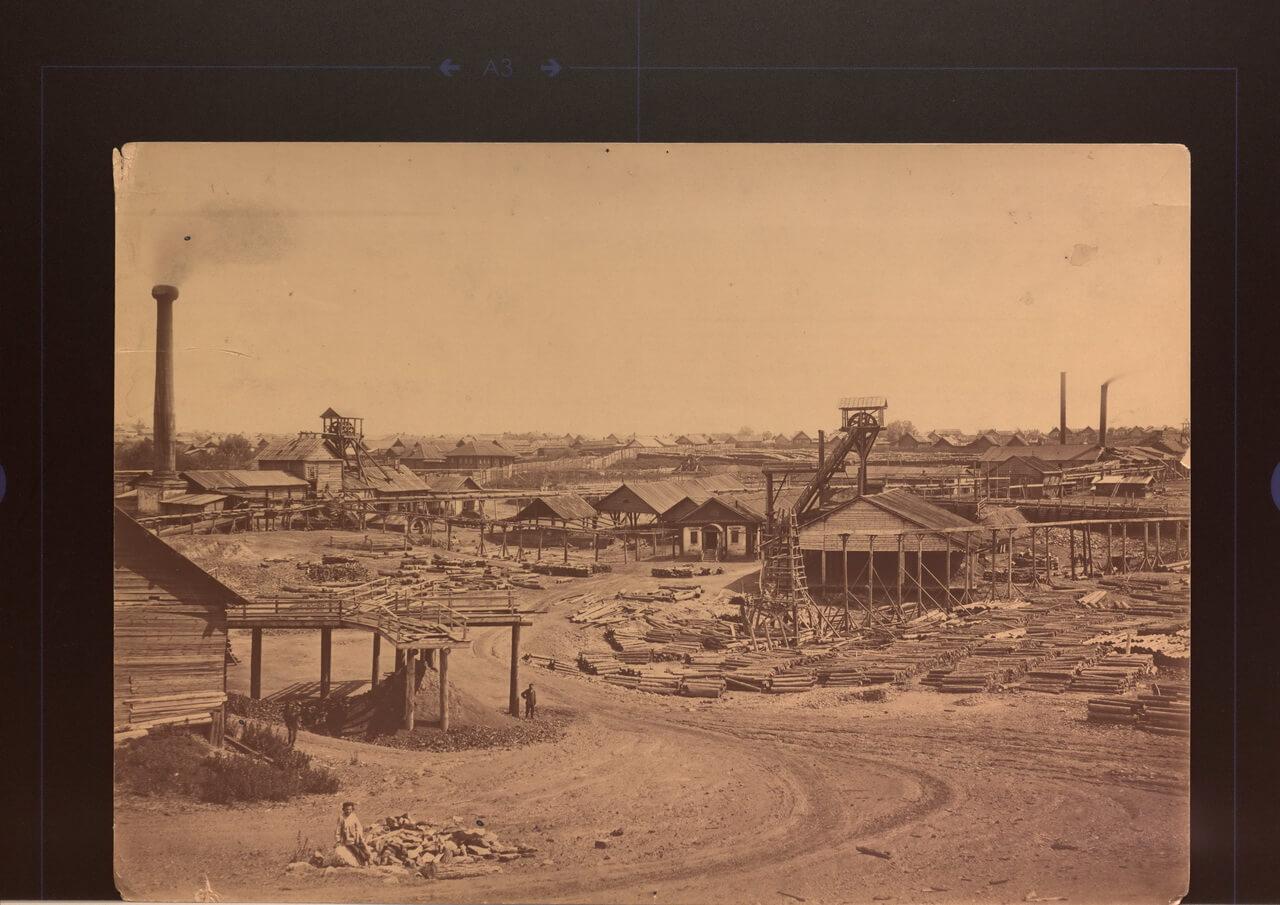 Шахтный двор медного рудника. Фото Шестакова Е.А.