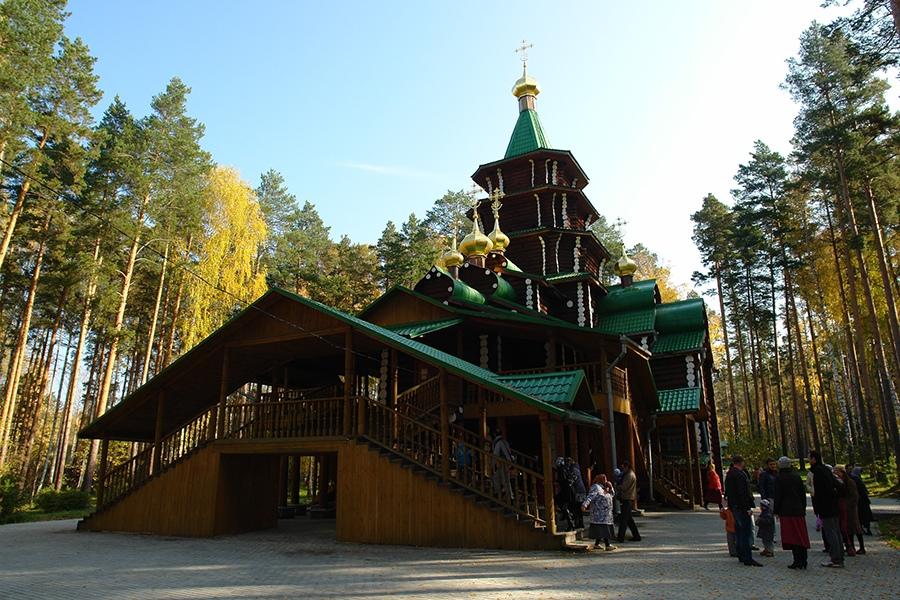Храм преподобного Сергия Радонежского, Ганина Яма, Екатеринбург, Свердловская область