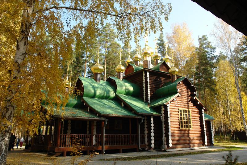 Храм Святителя Николая, Мир Ликийских чудотворца, Ганина Яма, Екатеринбург, Свердловская область