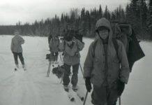 Студенты лыжники из группы Дятлова