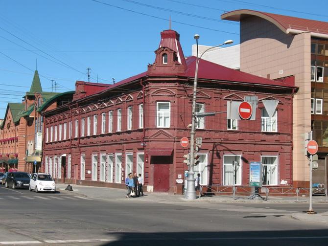 Дом купчихи М.М. Барановой, Зеленая Линия Перми, Пермь, Пермский край