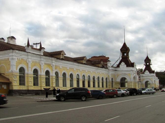 Железнодорожный вокзал «Пермь I», Зеленая Линия Перми, Пермь, Пермский край