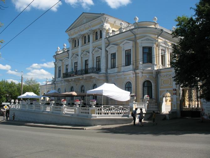 Дом пароходчика Мешкова, Зеленая Линия Перми, Пермь, Пермский край